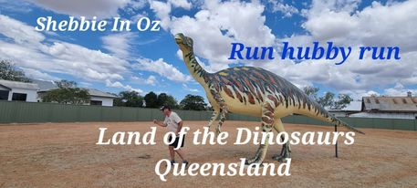 Shebbie In Oz – Outback Oz (Land of the Dinosaurs.)